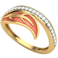 RING (LJRG075), 9, 14k, hi-vs/si