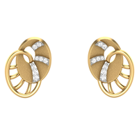 EARRING (LJER0073), 18k, hi-vs/si
