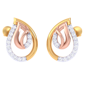 EARRING (LJER0342), 14k, hi-vs/si