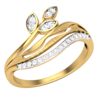 RING (LJRG105), 8, 18k, hi-vs/si