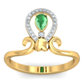 RING (LJRG088), 15, 18k, hi-vs/si