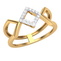RING (LJRG050), 9, 14k, hi-vs/si