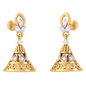 EARRING (LJER0361), 14k, hi-vs/si