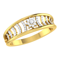 RING (LJRG008), 14k, hi-vs/si, 8