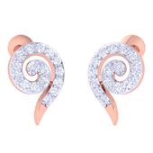 EARRING (LJKTP028), 18k, hi-vs/si