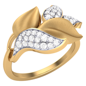 RING (LJRG002), 18k, hi-vs/si, 11