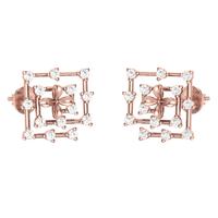 EARRING (LJER0115), 14k, hi-vs/si