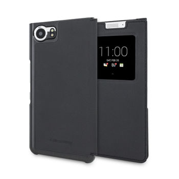 BLACKBERRY KEY ONE FLIP CASE FCB100,  black