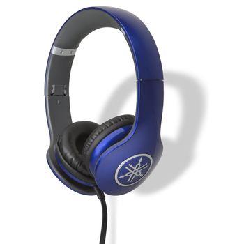 YAMAHA ON EAR STEREO HEADSET 53 OHMS,  blue