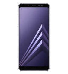 SAMSUNG GALAXY A8 PLUS 2018 64GB DUAL SIM 4G LTE,  orchid grey