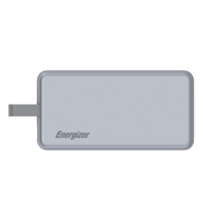 ENERGIZER POWER BANK 8000MAH MFI UE8002,  grey