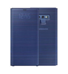 SAMSUNG GALAXY NOTE 9 LED VIEW COVER CASE,  blue