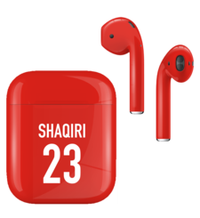 APPLE AIRPODS FIFA SUPERSTARS SERIES,  shaqiri, gloss
