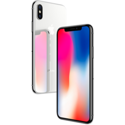 APPLE IPHONE X, silver, 64gb