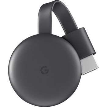 GOOGLE CHROMECAST 3 MEDIA STREAMING DEVICE CHARCOAL