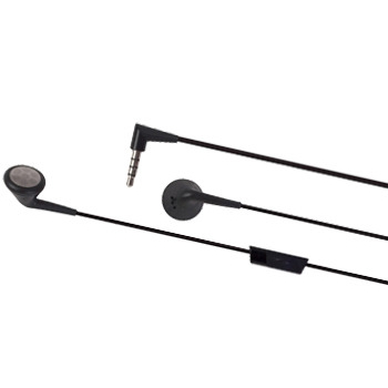 Blackberry Stereo Headset,  black