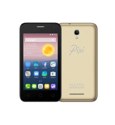 ALCATEL PIXI FIRST 4024D DUAL SIM 3G,  metallic gold, 4gb