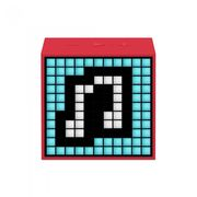 DIVOOM BLUETOOTH SPEAKER TIMEBOX MINI LIFESTYLE,  red