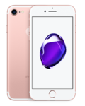 APPLE IPHONE 7 4G LTE,  rose gold, 128gb