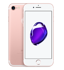 APPLE IPHONE 7 4G LTE,  rose gold, 128gb
