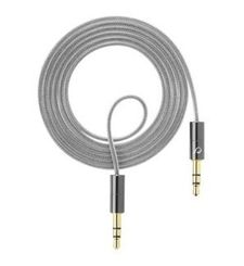 CELLULARLINE CABLE AUX MUSIC 3.5MM JACK,  grey