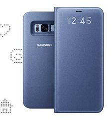 SAMSUNG GALAXY S8 LED VIEW COVER,  blue