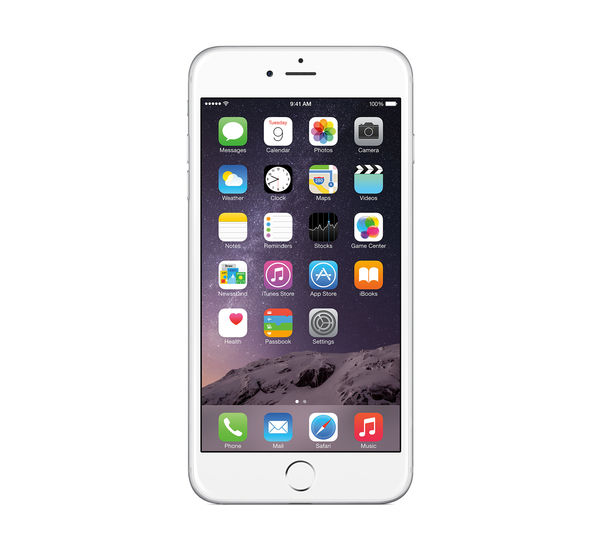 APPLE IPHONE 6 PLUS 4G LTE, silver, 64gb