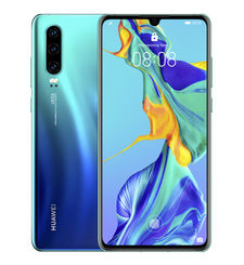HUAWEI P30 128GB 4G DUAL SIM,  aurora blue