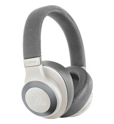 JBL E65 BLUETOOTH NOISE CANCELLING HEADPHONE,  white
