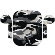 APPLE AIRPODS CAMOUFLAGE SPECIAL EDITION,  monochrome , matte