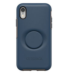 OTTERBOX IPHONE XR MAX BACK CASE POP SYMMETRY,  go to blue