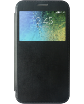 MYCANDY SAMSUNG GALAXY E7 FLIP COVER BLACK