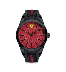 FERRARI WATCH SPORT,  black