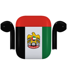 APPLE AIRPODS UAE NATIONAL DAY SPECIAL EDITION,  matte