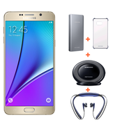 SAMSUNG NOTE 5 VALUE PACK,  gold