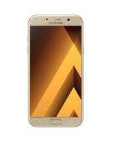 SAMSUNG GALAXY A7 A720F DUAL SIM 3G,  gold sand, 32gb