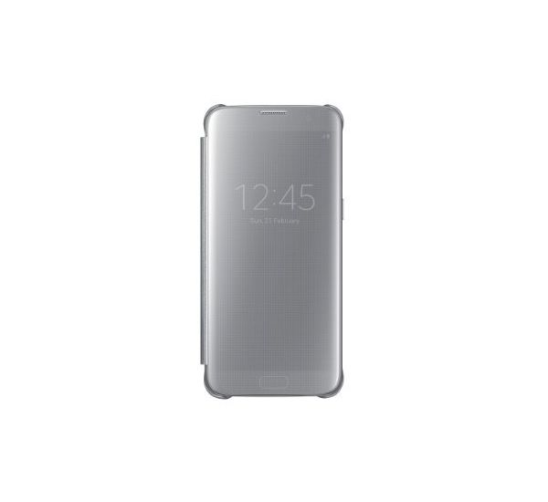 SAMSUNG GALAXY S7 EDGE LED VIEW COVER, silver