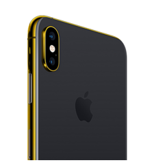 24K GOLD PLATED APPLE IPHONE XS MAX,  space gray, 256gb