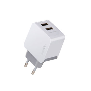 ENERGEA USB WALL CHARGER 5V 3.4A WHITE