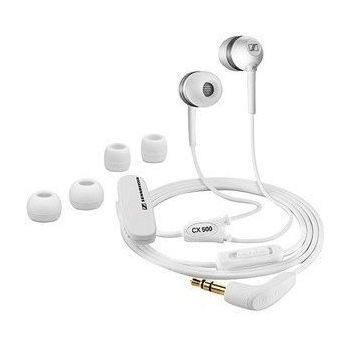SENNHEISER IN EAR STEREO EARPHONES FOR APPLE,  black