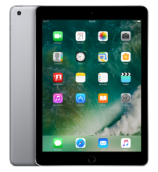 NEW APPLE IPAD 9.7 INCH,  space grey, 128gb, 4g lte