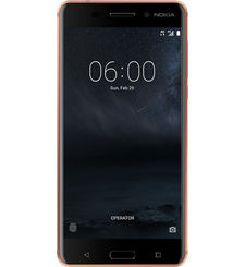 NOKIA 6 32GB 4G LTE DUAL SIM,  copper