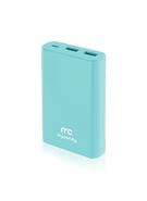 MYCANDY POWER BANK 10K MAH QC 3 PB20 FG,  blue