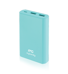 MYCANDY POWER BANK 10K MAH QC 3 PB20 FG,  blue