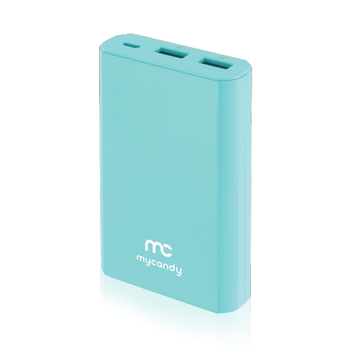 MYCANDY POWER BANK 10K MAH QC 3 PB20 FG,  grey