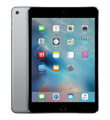 APPLE IPAD MINI 4 WIFI, 128 GB,  رمادي