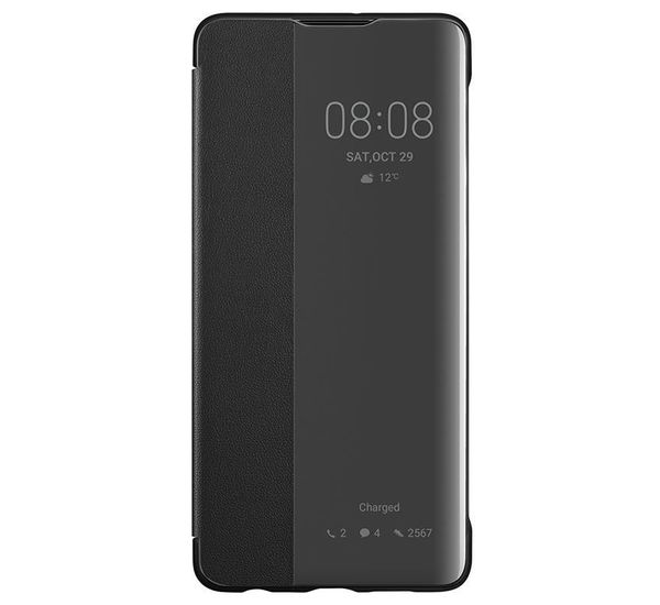new arrival 3f0b2 410c6 HUAWEI P30 SMART VIEW FLIP COVER, black