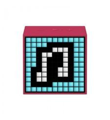 DIVOOM BLUETOOTH SPEAKER TIMEBOX MINI LIFESTYLE,  pink