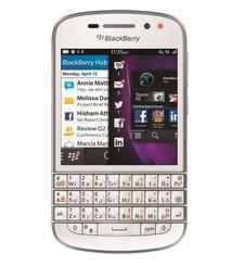 BLACKBERRY Q10 4G LTE,  white
