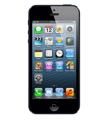 APPLE IPHONE 5 4G LTE,  black, 32gb
